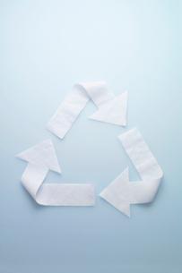 リサイクルマークの写真素材 [FYI01721094]