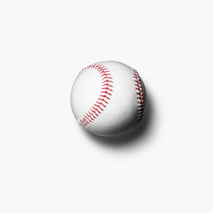 野球の硬式ボールの写真素材 [FYI01721102]