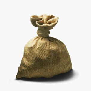 金貨袋の写真素材 [FYI01721266]
