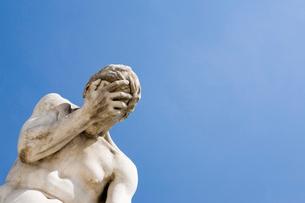 チュイルリー公園の銅像の写真素材 [FYI01721583]