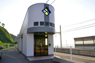 JR青海川駅の写真素材 [FYI01722055]