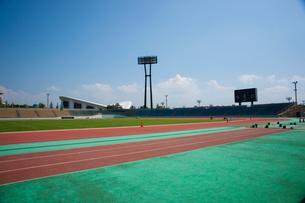新潟市陸上競技場の写真素材 [FYI01722201]