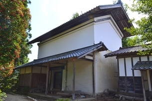 伊藤家住宅三階土蔵の写真素材 [FYI01722584]