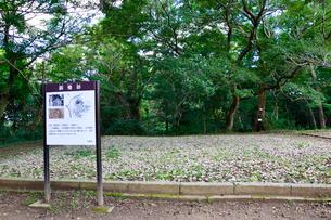 佐倉城 銅櫓跡の写真素材 [FYI01722693]