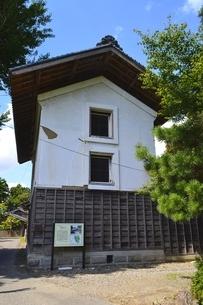 伊藤家住宅三階土蔵の写真素材 [FYI01722745]