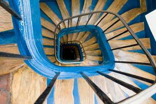 螺旋階段の写真素材 [FYI01722947]