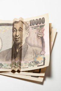 笑う福沢諭吉 一万円札の写真素材 [FYI01724178]