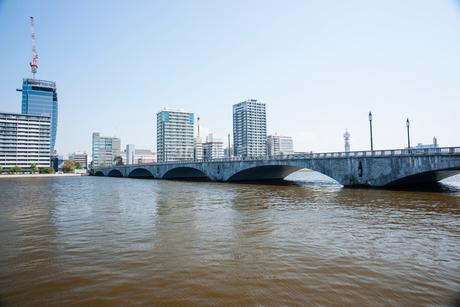 万代橋の写真素材 [FYI01724212]