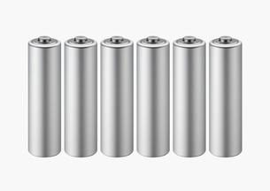 乾電池の写真素材 [FYI01724277]