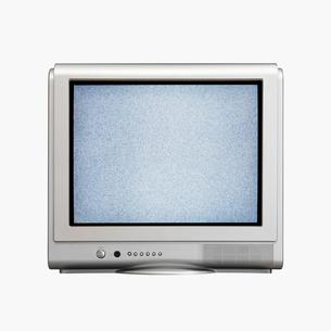 砂嵐の画面のテレビの写真素材 [FYI01724326]