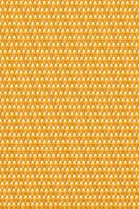 金のどくろのパターンの写真素材 [FYI01724372]