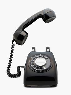 黒電話 レトロの写真素材 [FYI01724420]