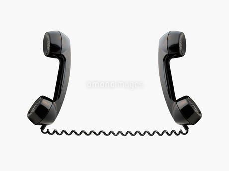 電話の受話器 レトロの写真素材 [FYI01724471]
