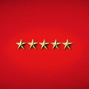 5つ星の写真素材 [FYI01724576]