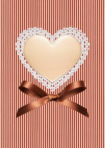 ハートのバレンタインチョコの写真素材 [FYI01724631]