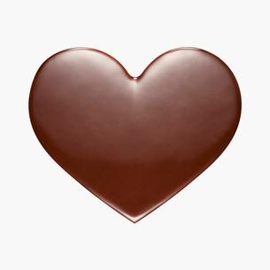 ハートのバレンタインチョコの写真素材 [FYI01724711]