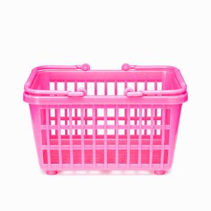 買い物かご(ショッピングバスケット)の写真素材 [FYI01724748]