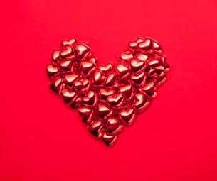 ハートのチョコレートの写真素材 [FYI01724767]