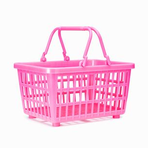 買い物かご(ショッピングバスケット)の写真素材 [FYI01724793]