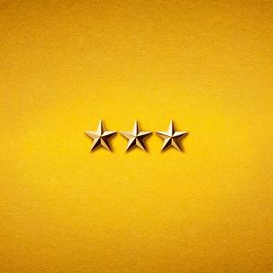 3つ星の写真素材 [FYI01724796]