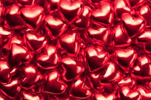 ハートのチョコレートの写真素材 [FYI01724980]