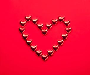 ハートのチョコレートの写真素材 [FYI01725120]