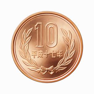 10円玉の写真素材 [FYI01725200]