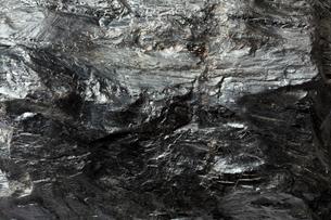 石炭の表面の写真素材 [FYI01725247]