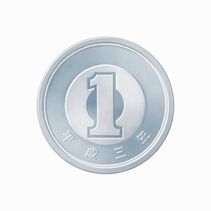 1円玉の写真素材 [FYI01725350]