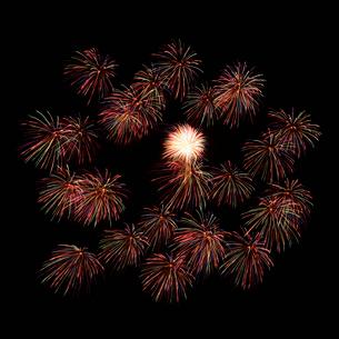 花火の写真素材 [FYI01725397]