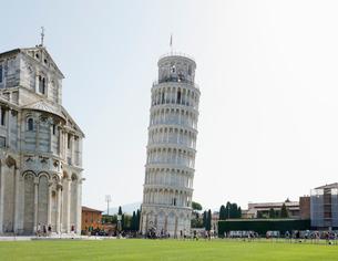 ピサの斜塔 イタリアの写真素材 [FYI01725640]
