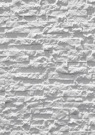 石材の白い壁の写真素材 [FYI01725676]