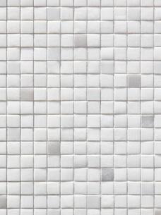 白色のタイルの写真素材 [FYI01725683]
