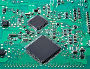 電子回路基板の写真素材 [FYI01725770]