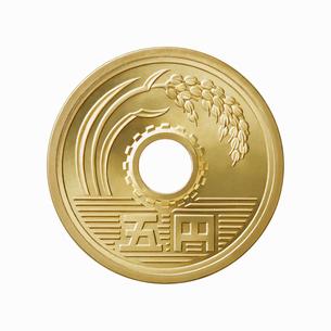 5円玉の写真素材 [FYI01725784]