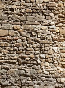 石材の壁の写真素材 [FYI01726164]