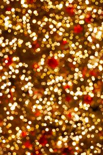 クリスマスのイルミネーションの写真素材 [FYI01726221]