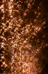 東京丸の内の街路樹のイルミネーションの写真素材 [FYI01726731]