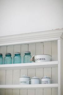 キッチンにある戸棚の写真素材 [FYI01727052]