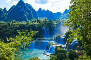 南寧の徳天滝の写真素材 [FYI01728119]
