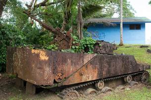 コロール島の大統領住居の写真素材 [FYI01728598]
