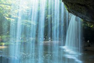 小国町の鍋が滝の写真素材 [FYI01729379]