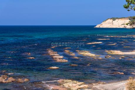 能登半島 日本海の海の写真素材 [FYI01730598]