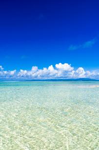 竹富島のコンドイ浜の写真素材 [FYI01730665]