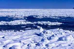オホーツク海の流氷の写真素材 [FYI01731276]