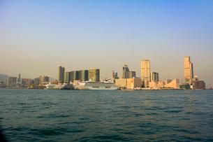 香港島とクーロンエリアの写真素材 [FYI01731845]