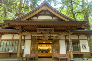 高千穂神社の神楽殿の写真素材 [FYI01732718]