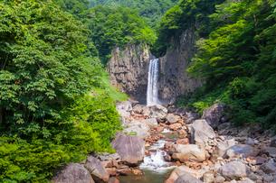 苗名滝の写真素材 [FYI01733127]