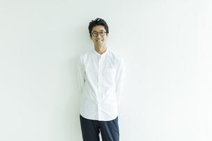 日本人男性のポートレートの写真素材 [FYI01733369]
