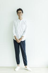 日本人男性のポートレートの写真素材 [FYI01733386]